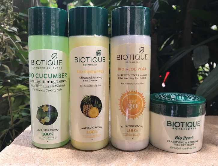 Biotique monsoon skin care review