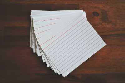 Extra sheet