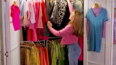 wardrobe gets a makeover