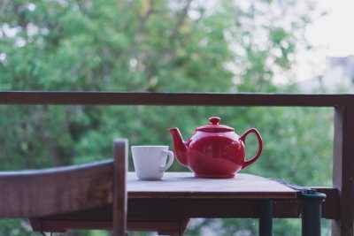 You can enjoy tea