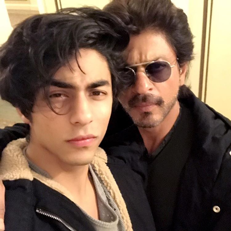 King Khan with Aryan