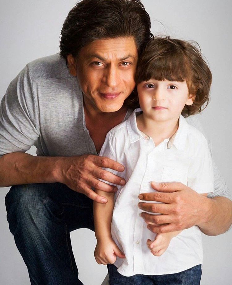 King Khan with Abram