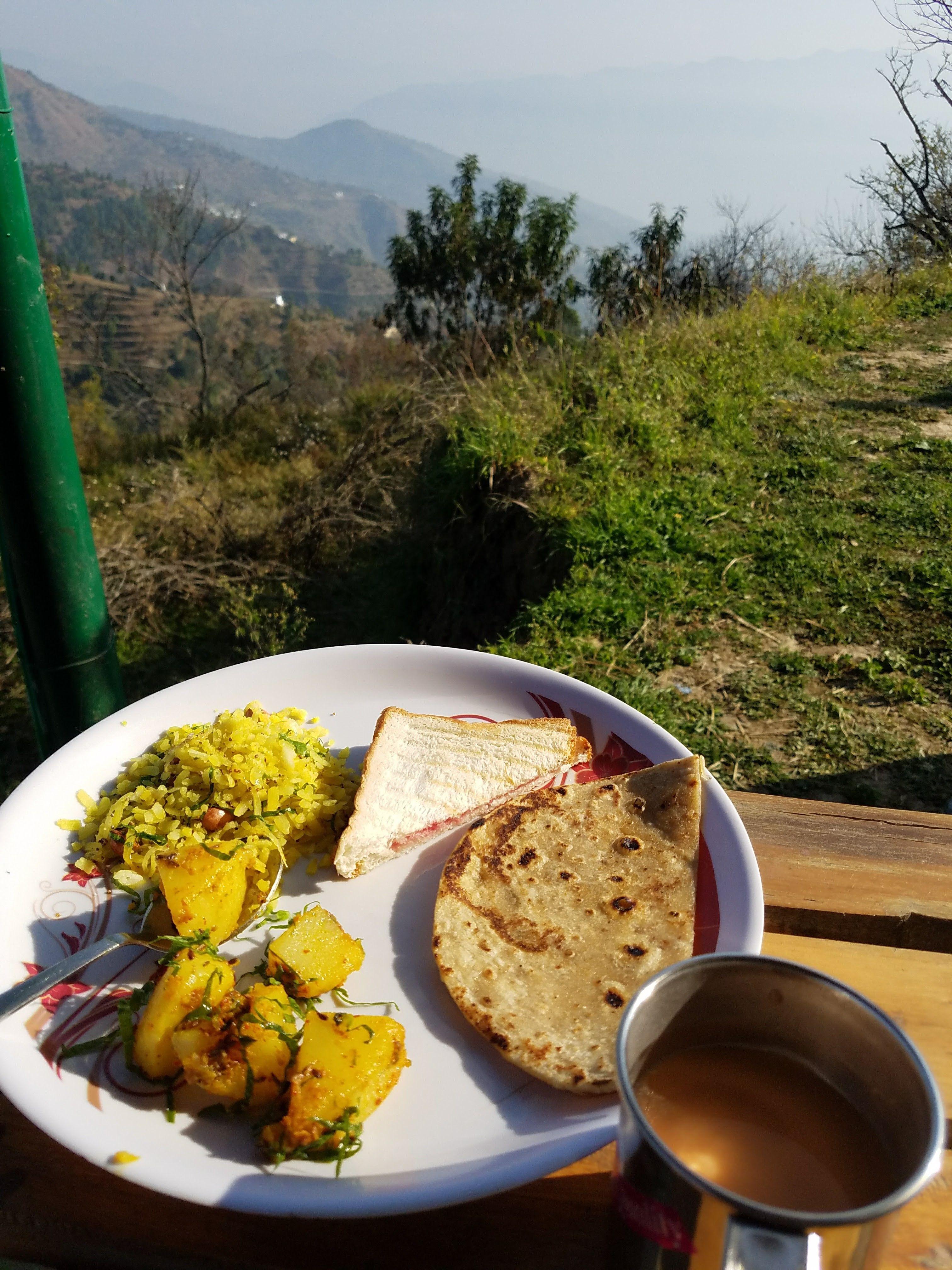 Food at Pahadi House