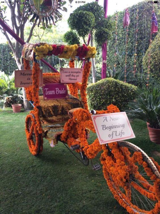 Rickshaw exit
