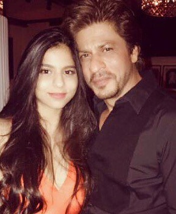 Shah Rukh with daughter Suhana