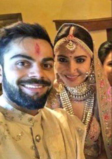 Virat Anushka wedding pic