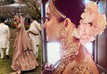 The perfect bride Anushka flaunting her choker