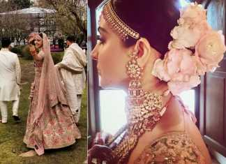 The perfect bride Anushka flaunting her choker