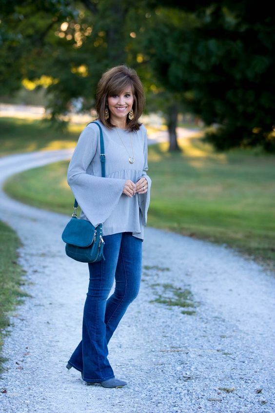7 Amazing Ways to wear Bell Sleeve Tops