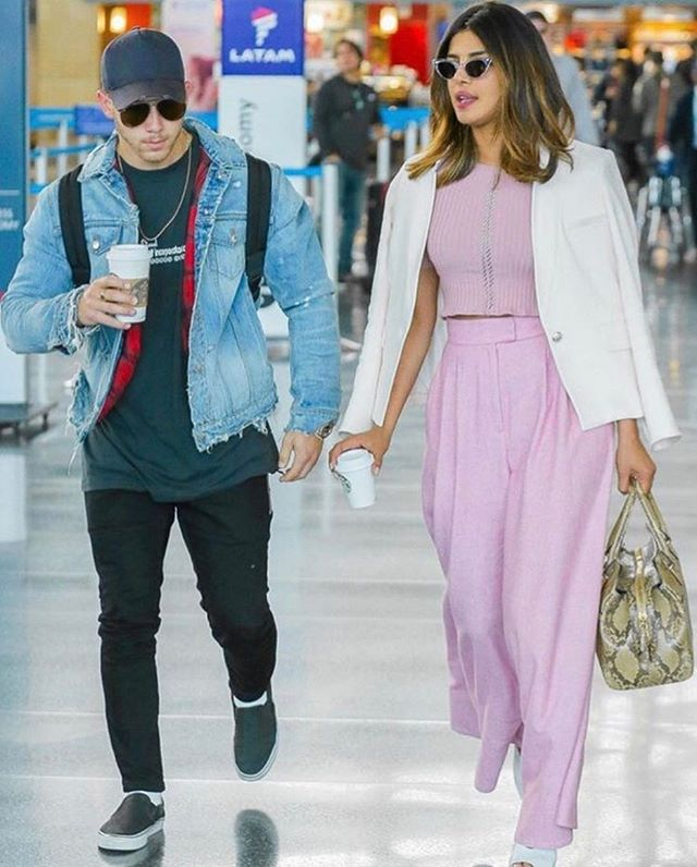 Priyanka and Nick Jonas