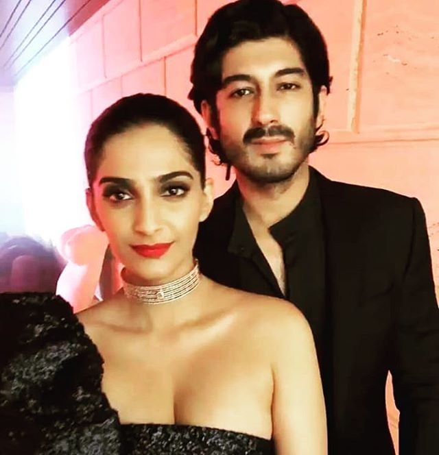 Sonam with Mohit Marwah
