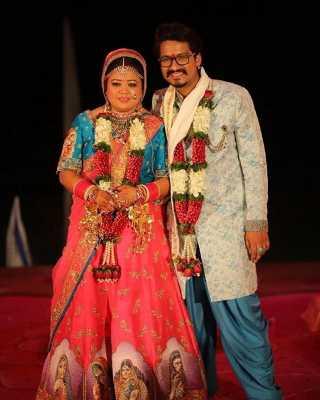 Bharti and Haarsh Limbhachiyaa