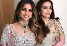 Isha and Nita Ambani
