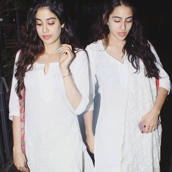 Sara Ali Khan and Jhanvi Kapoor