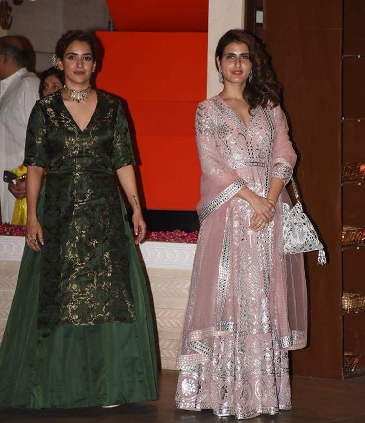 Fatima Sana Shaikh and Sanya Malhotra