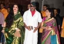 Jackie Shroff with Rekha