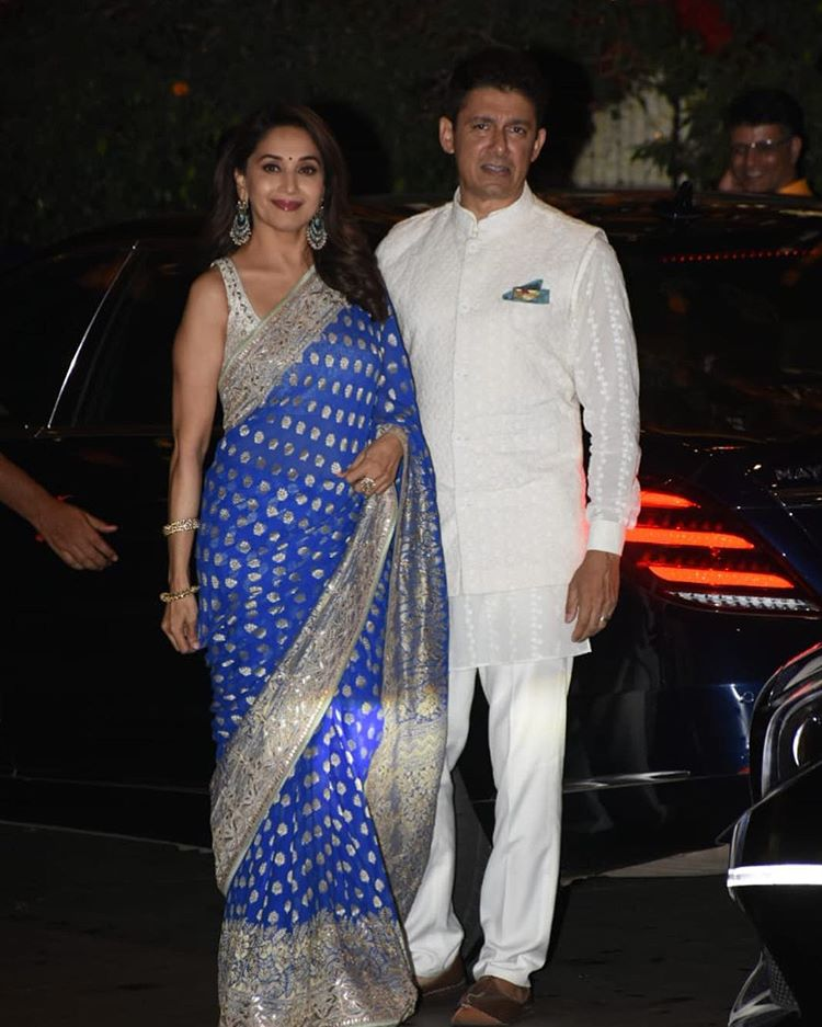 Madhuri Dixit with hubby