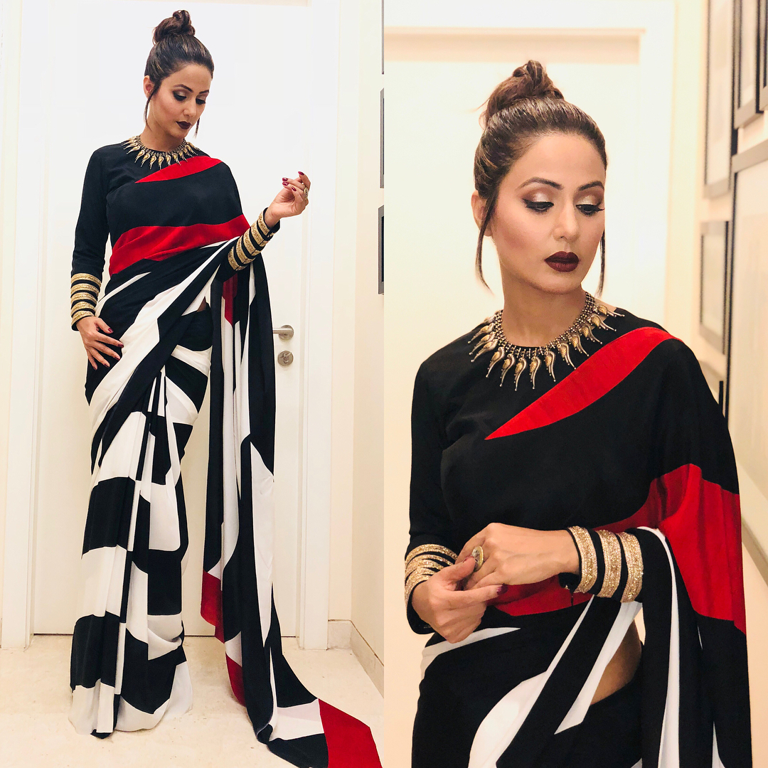 Amazing saree look