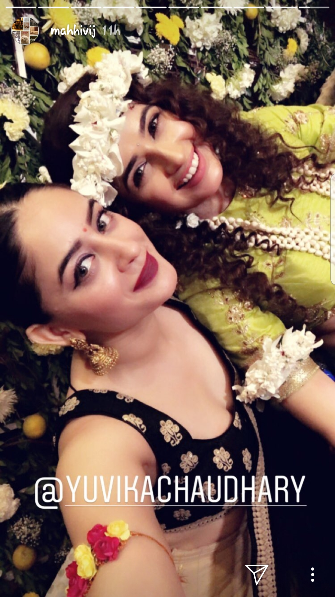 Mahi Vij and Yuvika