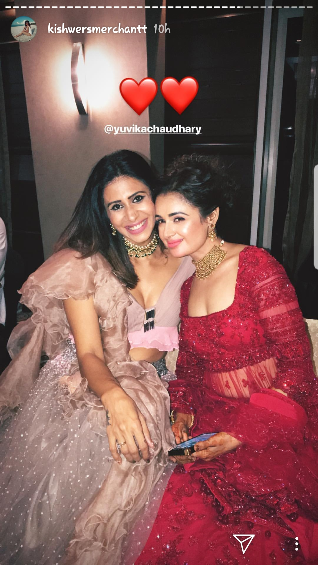 Yuvika and Kishwer