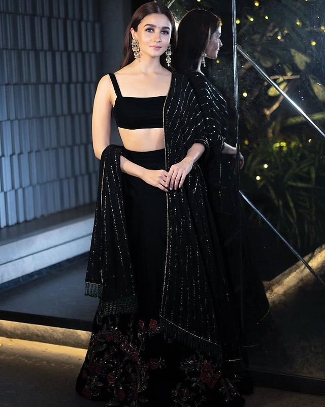 This wedding season Dare to wear Black!
