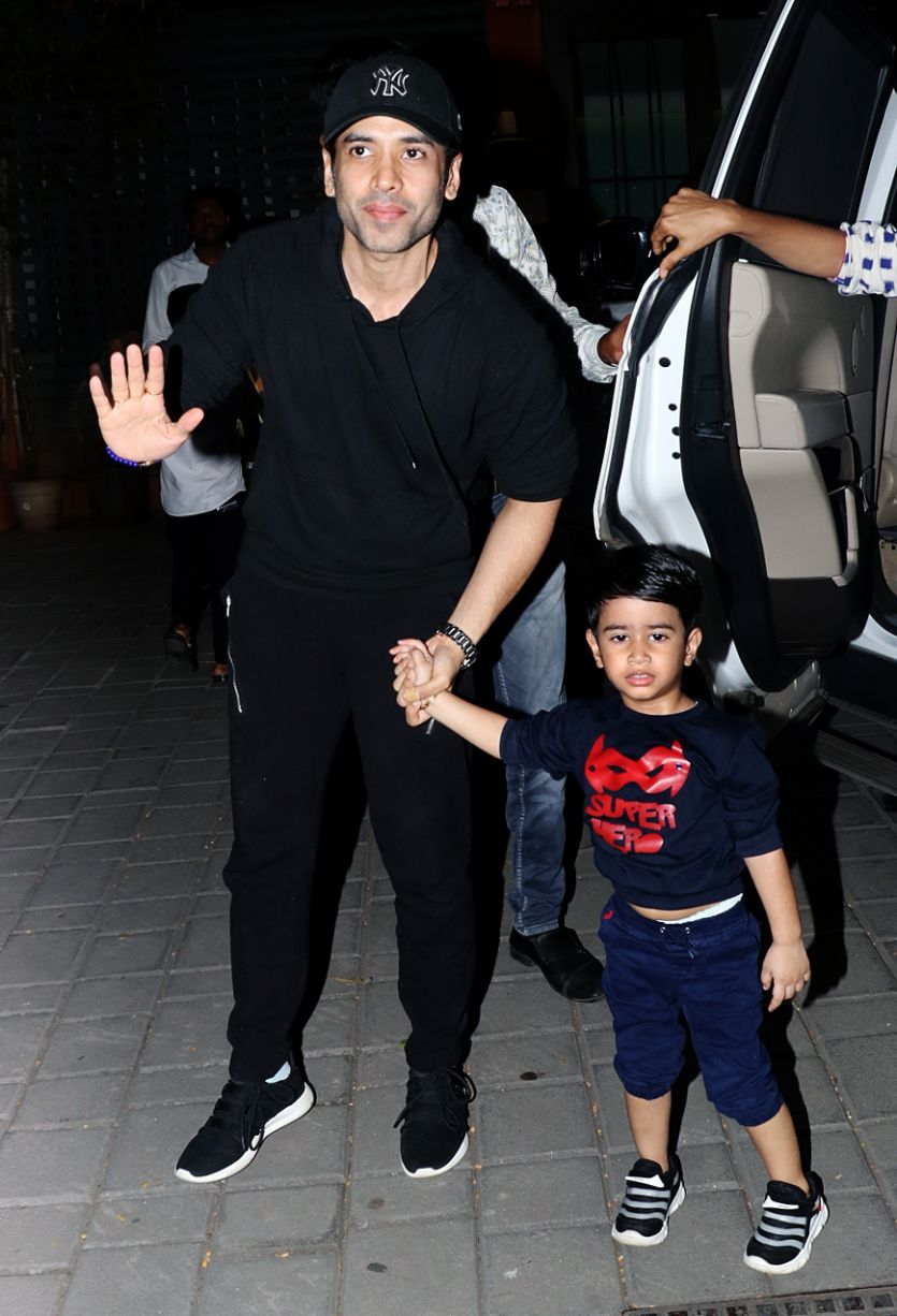 Tushar Kapoor's son Laksshaya