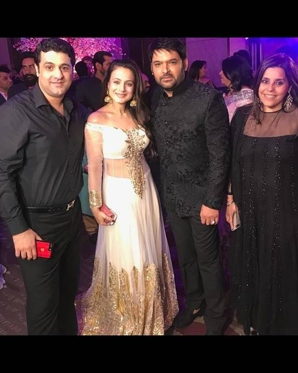 Amisha Patel and guests