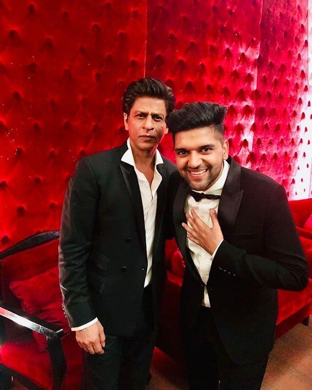 Guru Randhawa with SRK