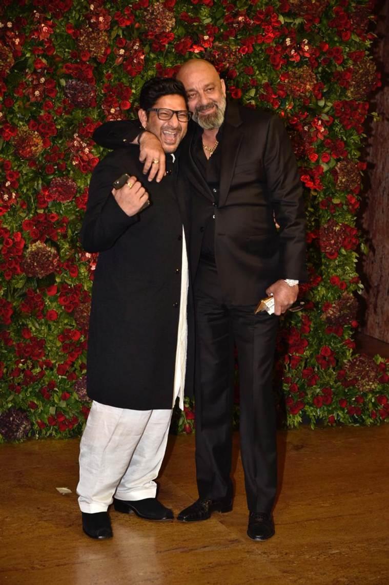 Sanjay Dutt and Arshad Warsi
