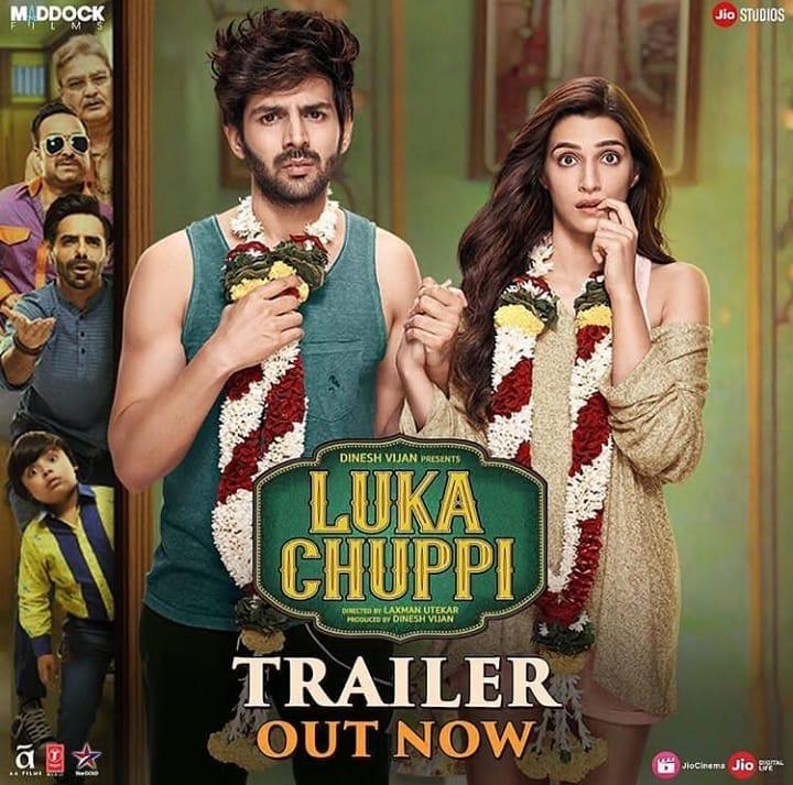 Kartik Aaryan and Kriti Sanon's Luka Chuppi Trailer turns into Memes
