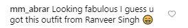 Is Vidya Balan's current style inspired from Ranveer Singh?