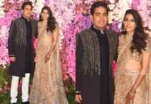 Akash Ambani and Shloka Mehta's post wedding celebration