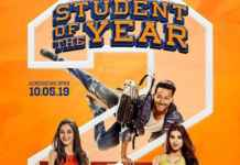Tara Sutaria's Student of the Year 2 poster is out