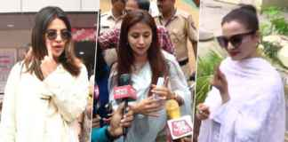 Celebrities seen casting their votes in Lok Sabha elections