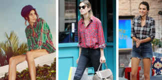Ways you can style checked shirt this summer