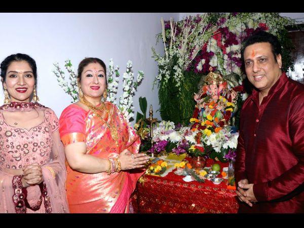 Govinda and family