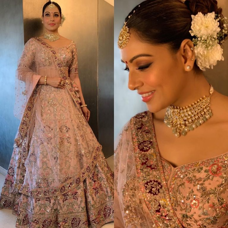 Bipasha Basu at her sisters wedding
