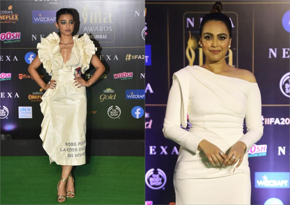 Radhika Apte and Swara Bhaskar