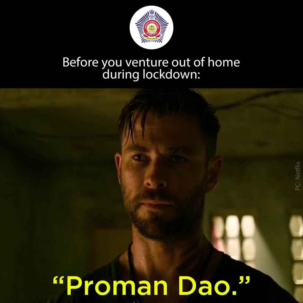 Mumbai Police Share Hilarious Memes To Deliver A Message All About Women