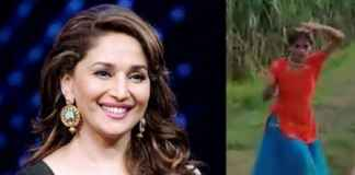 Madhuri Dixit impressed with girl's dance