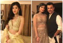 Shanaya Kapoor with Sanjay Kapoor