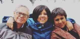 Barkha Dutt and Father SP Dutt