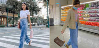 ways to style baggy jeans