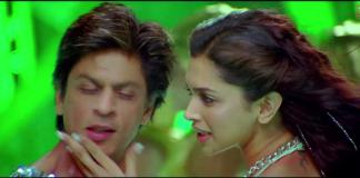 Shah Rukh Khan and Deepika