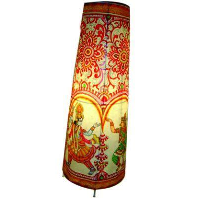 Dancing Radha Krishna Floor Lamp